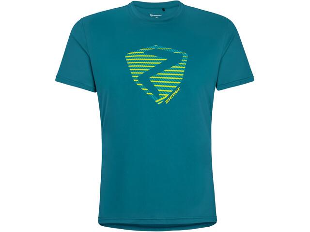 Ziener Nolaf T-Shirt Men, niebieski
